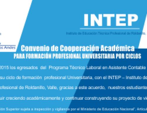 CUA – INTEP  Firman Convenio de Cooperación Académica
